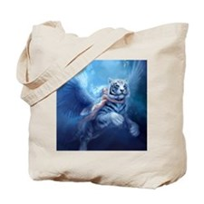 fairy and flying tiger Tote Bag