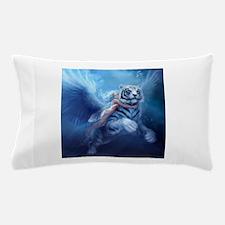 Unique White tiger Pillow Case