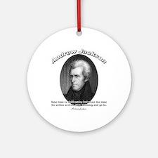 Andrew Jackson 03 Ornament (Round)