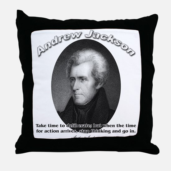 Andrew Jackson 03 Throw Pillow