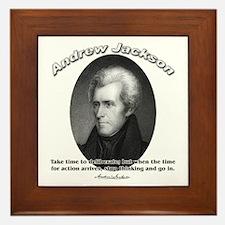 Andrew Jackson 03 Framed Tile