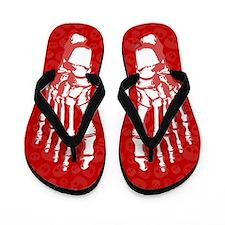 Skelly Flip Flops