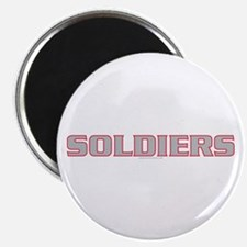 Cute Soldier of god Magnet