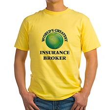 World's Greatest Insurance Broker T-Shirt