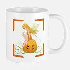 FAERIE ON PUMPKIN Mug