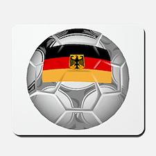 Germany Soccer Ball Mousepad