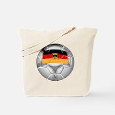 Germany Soccer Ball Tote Bag
