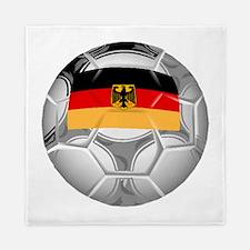 Germany Soccer Ball Queen Duvet