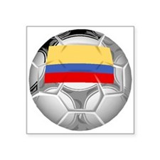 Colombia Soccer Ball Sticker