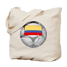 Colombia Soccer Ball Tote Bag
