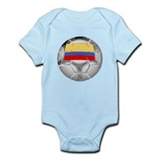 Colombia Soccer Ball Body Suit