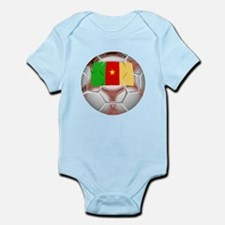 Cameroon Soccer Ball Body Suit