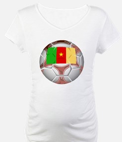 Cameroon Soccer Ball Shirt
