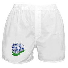 Soccer Balls Boxer Shorts