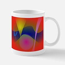 Abstract Volcano Mugs