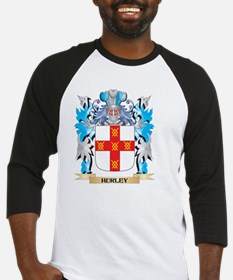 Hurley Coat of Arms - Family Crest Baseball Jersey