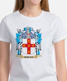 Hurley Coat of Arms - Family Cres T-Shirt