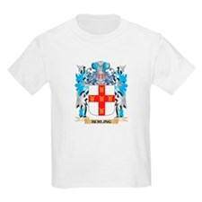 Hurling Coat of Arms - Family Crest T-Shirt