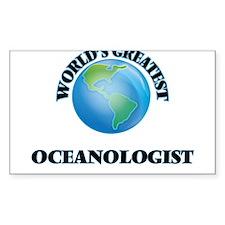 World's Greatest Oceanologist Decal
