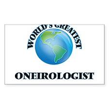 World's Greatest Oneirologist Decal