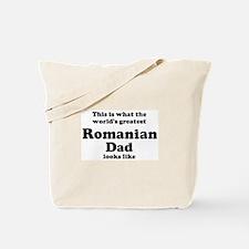 Romanian dad looks like Tote Bag