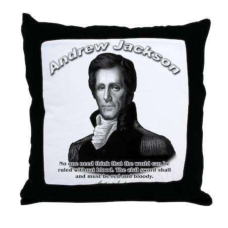 Andrew Jackson 04 Throw Pillow