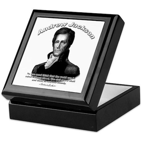 Andrew Jackson 04 Keepsake Box