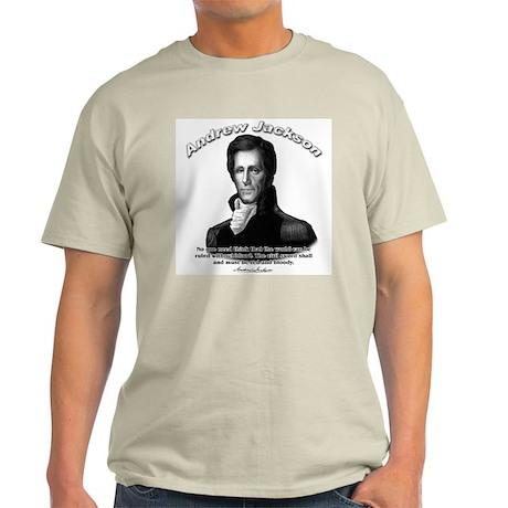 Andrew Jackson 04 Light T-Shirt