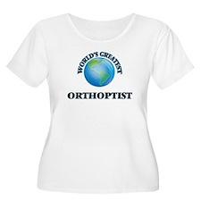 World's Greatest Orthoptist Plus Size T-Shirt