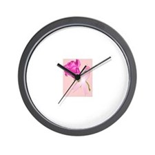 Cute Rose breasted Wall Clock