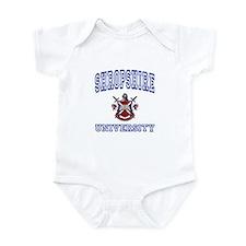 SHROPSHIRE University Infant Bodysuit