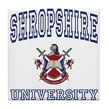 SHROPSHIRE University Tile Coaster