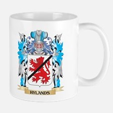Hylands Coat of Arms - Family Crest Mugs