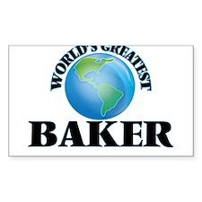 World's Greatest Baker Decal