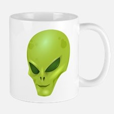 Funny Alien Head Mugs