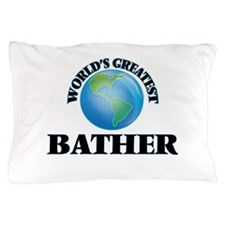 Funny Bather Pillow Case