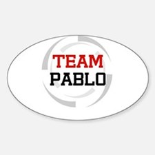 Pablo Oval Decal