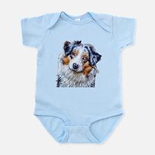 Australian Shepherd Infant Bodysuit