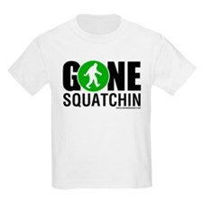 Gone Squatchin Mens Green/Black Logo T-Shirt
