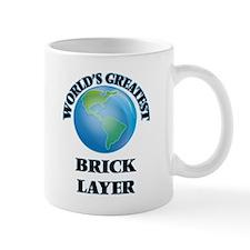 World's Greatest Brick Layer Mugs
