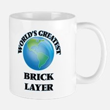 World's Greatest Brick Layer Mugs