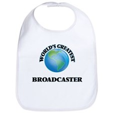 Cute Greatest broadcaster Bib