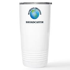 Cute Digital television broadcasting Travel Mug