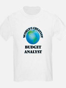 World's Greatest Budget Analyst T-Shirt
