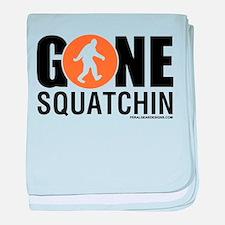 Unique Squatchin baby blanket