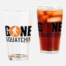 Cute Squatchin Drinking Glass