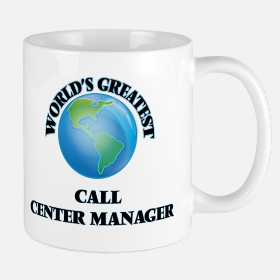 World's Greatest Call Center Manager Mugs