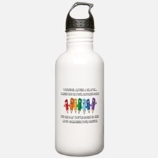 Crayons Water Bottle