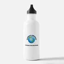 Cute Film library Water Bottle