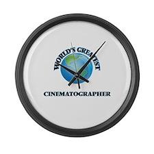 Unique Cinematographer Large Wall Clock